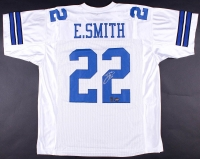Emmitt Smith Signed Cowboys Jersey (Prova Hologram & Smith Hologram)