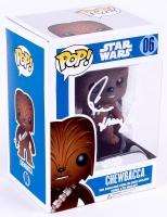 "Peter Mayhew Signed Star Wars ""Chewbacca"" Funko Pop Vinyl Figure (Radtke COA)"