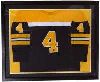 Bobby Orr Signed Bruins 35x43 Custom Framed Jersey (Great North Road COA)