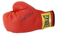 Jake LaMotta Signed Everlast Boxing Glove (JSA COA)