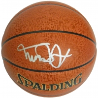 Michael J Fox Signed Spalding NBA Indoor/Outdoor Basketball at PristineAuction.com