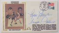 Floyd Patterson & Ingemar Johansson Signed Gateway First Day Cover Cachet (PSA COA) at PristineAuction.com