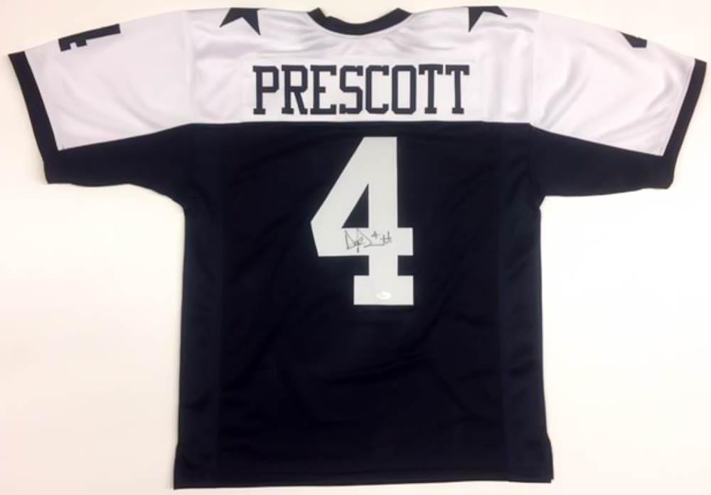 600de0662 ... switzerland dak prescott signed cowboys jersey jsa coa at  pristineauction 4d5f5 a527d