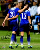 Abby Wambach Signed USA Soccer With Alex Morgan 8x10 Photo at PristineAuction.com