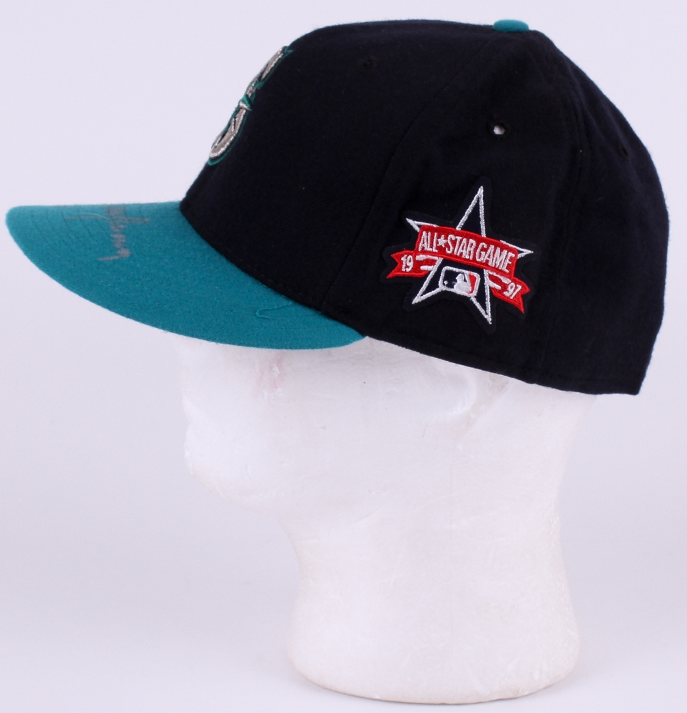 847a821ae53 Randy Johnson Signed Seattle Mariners New Era 1997 All Star Game Hat (Mead  Chalky Sports