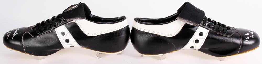 0af37c636 Brooks Robinson Signed Pair of Vintage Spot-Bilt Cleats Inscribed
