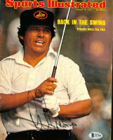 Lee Trevino Signed 1974 Sports Illustrated Magazine Cover 8x10 Photo (Beckett COA) at PristineAuction.com