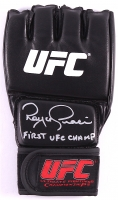 "Royce Gracie Signed UFC Glove Inscribed ""First UFC Champ"" (PA COA)"
