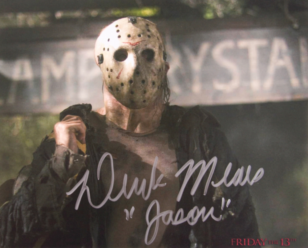 """Derek Mears Signed """"Friday the 13th"""" 8x10 Photo Inscribed ..."""