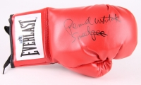 """Pernell Whitaker Signed Everlast Boxing Glove Inscribed """"Sweet Pea"""" (Whitaker Hologram)"""