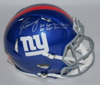 Eli Manning Signed Giants Full-Size Authentic Pro-Line Speed Helmet Limited Edition #1/10 (Steiner COA)