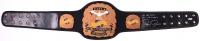 "Royce Gracie Signed Full-Size UFC #1 Championship Belt Inscribed ""UFC HOF 2003"" & ""UFC 1, 2 & 4 Champ"" (PA COA)"