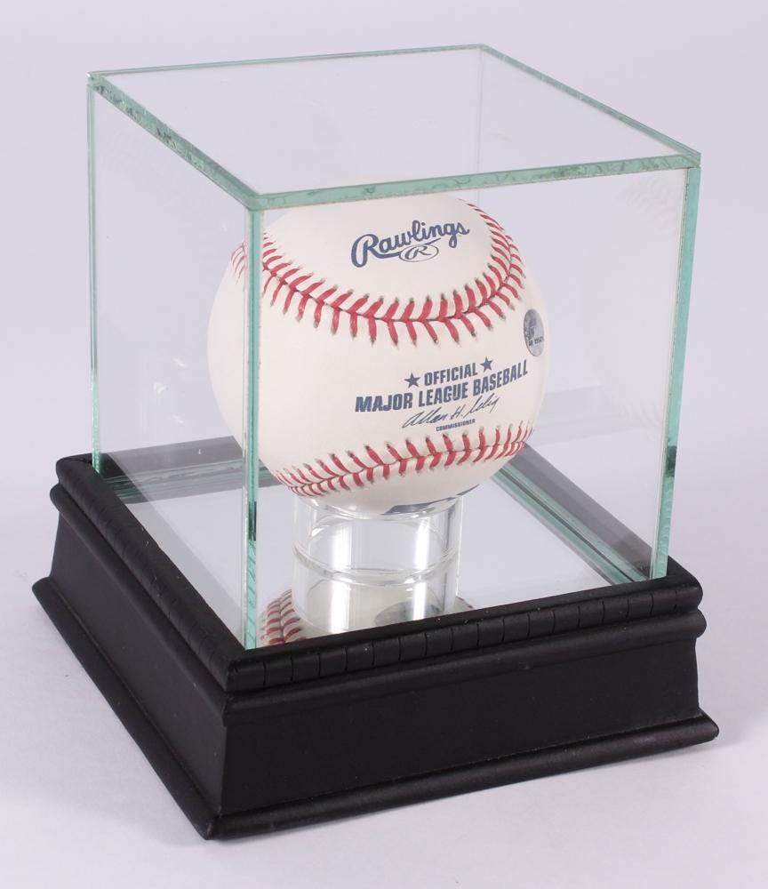 Joe Morgan Signed OML Baseball with High Quality Display ...  Mounted