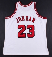 Michael Jordan Signed Bulls Mitchell & Ness Authentic On-Court Jersey (UDA COA)