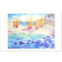 """Adam Signed """"La Playa Arenosa"""" Limited Edition 23x37 Lithograph at PristineAuction.com"""