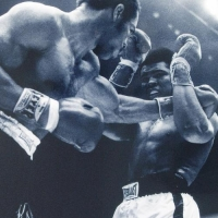 Muhammad Ali and Ken Norton Licensed 12x14 Photo at PristineAuction.com