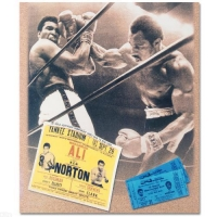 Muhammad Ali Licensed 12x14 Photo with Ken Norton at PristineAuction.com