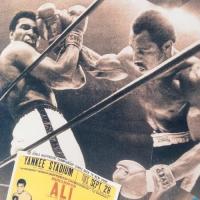Muhammad Ali Licensed 12x14 Photo with Ken Norton at PristineAuction.com