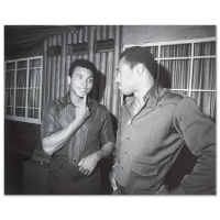 Muhammad Ali Licensed 16x20 Photo with Ken Norton