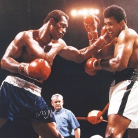 Muhammad Ali Licensed 16x20 Photo with Ken Norton at PristineAuction.com