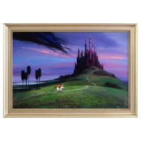 """Peter Ellenshaw Signed """"Aurora's Rescue"""" LE 28x40 Framed Giclee on Canvas at PristineAuction.com"""