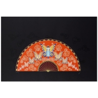 """Erte Signed """"Madame Butterfly"""" Limited Edition 36x20 Serigraph"""