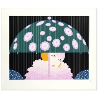 "Erte Signed ""Spring Showers"" LE 24x30 Serigraph"