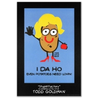 "Todd Goldman ""I-DA-HO"" Fine Art 24x36 Litho Poster at PristineAuction.com"