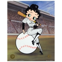 "King Features Syndicate Inc. ""Betty on Deck - Rockies"" Limited Edition 13x17 Sericel at PristineAuction.com"