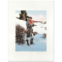 "George Mayers Signed ""Winter Watch"" LE 22x29 Lithograph"