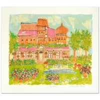 """Susan Pear Meisel Signed """"My House"""" Limited Edition 25x29 Serigraph at PristineAuction.com"""