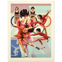 """William Nelson Signed """"Dorothy Hamill"""" Limited Edition 22x29 Lithograph at PristineAuction.com"""