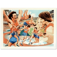 "Bruce Jenner & William Nelson Signed ""Bruce Jenner"" Limited Edition 22x29 Serigraph from an HC Edition"