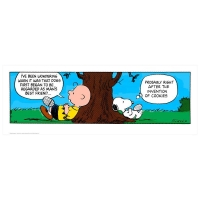 "Peanuts ""Invention of Cookies"" Limited Edition 12x33 Chromatic Pigment Ink Fine Art Print at PristineAuction.com"