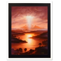 "Jon Rattenbury Signed ""Illuminate"" Limited Edition 18x24 Giclee on Canvas"