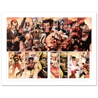 """Stan Lee Signed Marvel Comics """"Secret Invasion #8"""" Limited Edition 18x24 Giclee on Canvas by Leinil Francis Yu"""