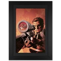 "Stan Lee Signed ""New Avengers #9"" Extremely Limited Edition 25x34 Custom Framed Giclee on Canvas by Mike Deodato Jr. and Marvel Comics"