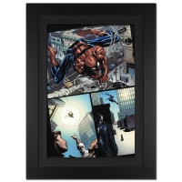 "Stan Lee Signed Marvel Comics ""Amazing Spider-Man #526"" 25x34 Custom Framed Giclee on Canvas by Mike Deodato Jr. (Limited Edition # of 10)"