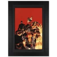 "Stan Lee Signed Marvel Comics ""Astonishing X-Men #13"" 25x34 Custom Framed Giclee on Canvas by John Cassaday (Limited Edition # of 10) at PristineAuction.com"