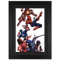 "Stan Lee Signed ""Marvel Knights Spider-Man #2"" Extremely Limited Edition 29x40 Giclee on Canvas by Terry Dodson and Marvel Comics at PristineAuction.com"