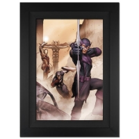 "Stan Lee Signed ""Avengers: Solo #1"" Extremely Limited Edition 29x40 Giclee on Canvas by John Tyler Christopher and Marvel Comics"