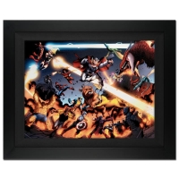 "Stan Lee Signed ""I Am An Avenger #4"" Extremely Limited Edition 28x38 Giclee on Canvas by Daniel Acuna and Marvel Comics"