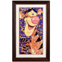 "David Willardson Signed ""Rock & Roar"" Limited Edition 26"" x 42"" Custom Framed Serigraph at PristineAuction.com"