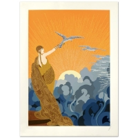 "Erte Signed ""Wings of Victory"" LE 23x31 Serigraph at PristineAuction.com"
