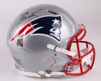Tom Brady Signed Patriots Full-Size Authentic Proline Speed Helmet (TriStar)