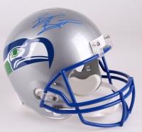 Brian Bosworth Signed Seahawks Throwback Full-Size Helmet (Radtke Hologram)