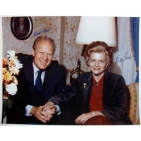 Gerald Ford & Betty Ford Signed 11x14 Photo (Steiner COA)
