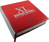 "Super Bowl 40 ""The Opus MVP Edition"" Limited Edition Book Signed by (35) with Bart Starr, Joe Namath, Terry Bradshaw, Joe Montana, Marcus Allen (Steiner COA)"