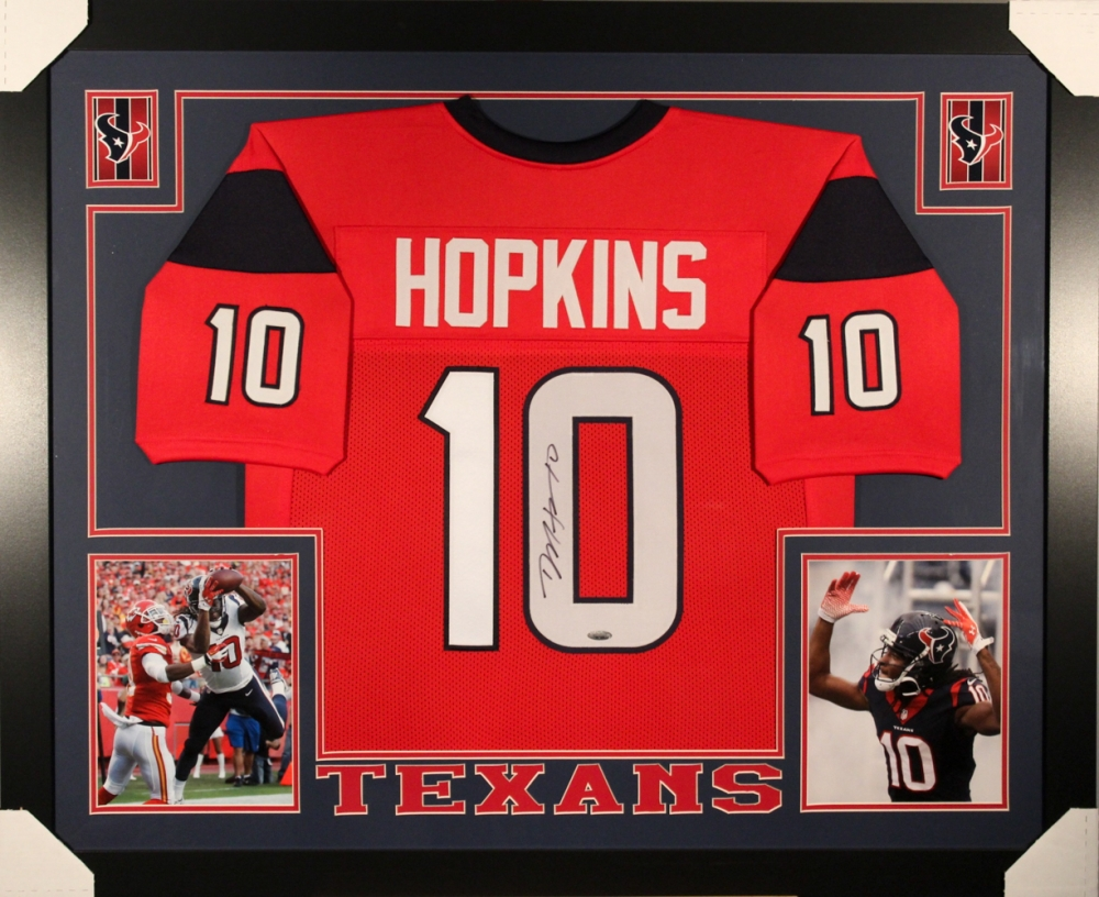 signed deandre hopkins jersey