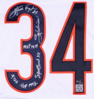 Walter Payton Signed Bears Limited Edition Jersey With (5) Inscriptions #34/34 (Payton Hologram) at PristineAuction.com